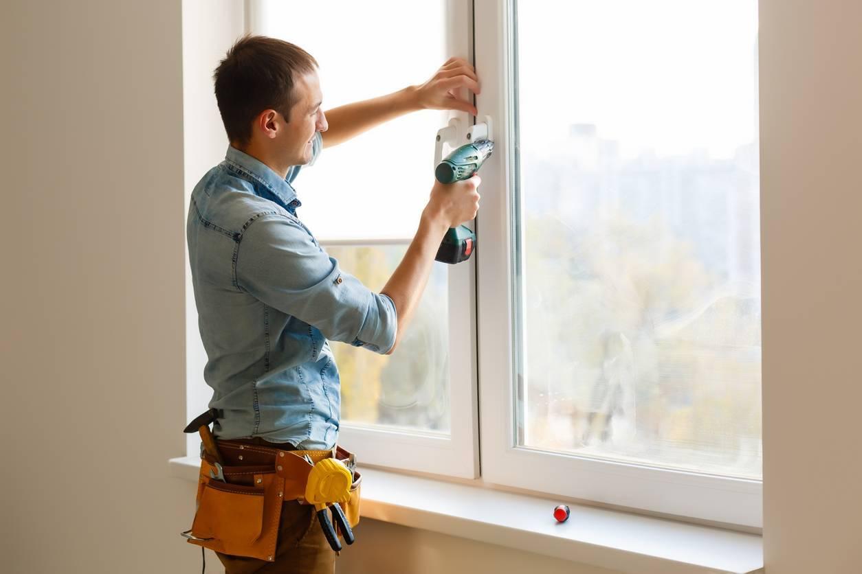 dépose fenêtre