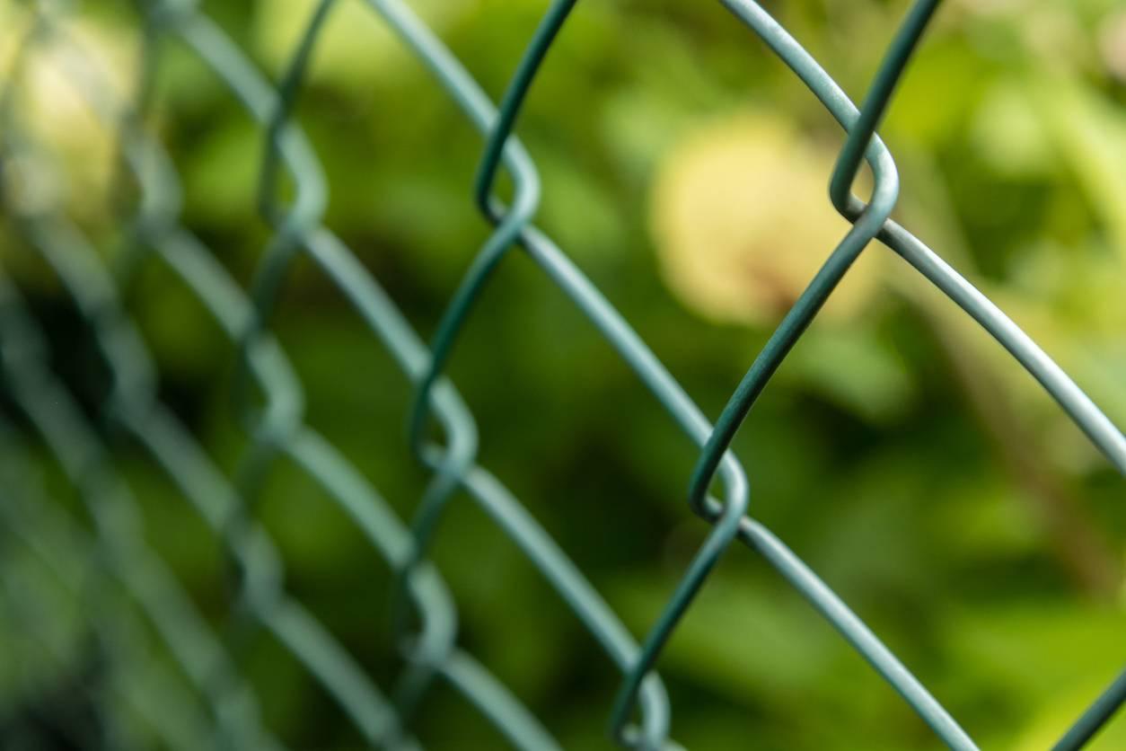 clôture en grillage sécurisation jardin terrain