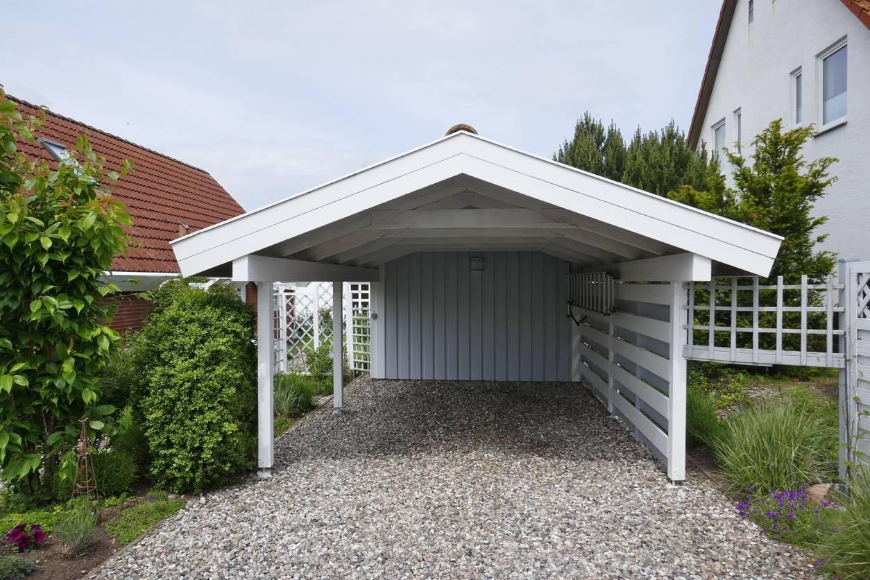 garage autoconstruction en bois