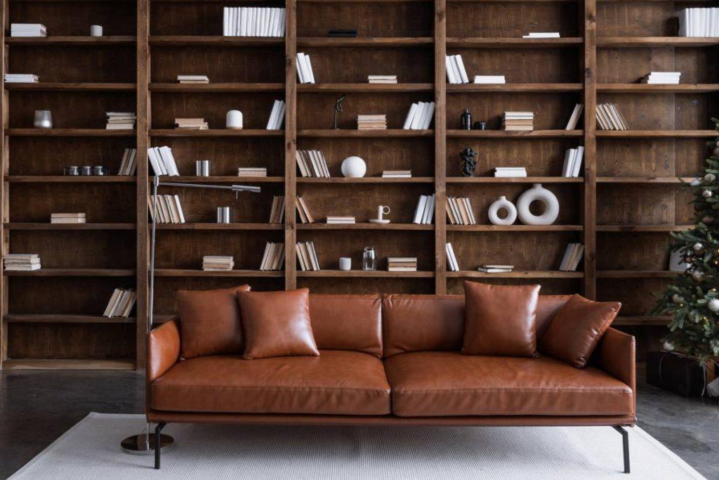 Aménagement : comment optimiser l'espace d'un salon bibliothèque ?